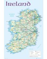 Map of Ireland - Poster