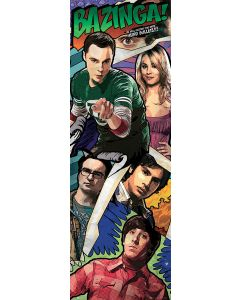 The Big Bang Theory - Door Poster