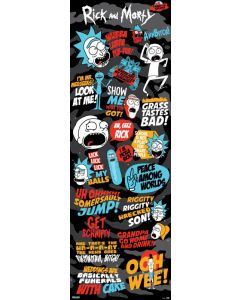 Rick And Morty - Door Poster