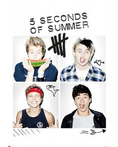 5 Seconds Of Summer - Giant Poster