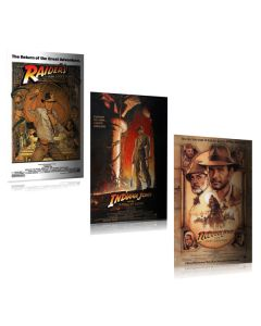 Indiana Jones - Movie Poster Set