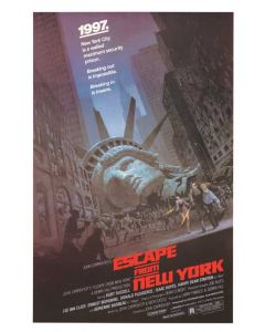 Escape From New York - Movie Poster