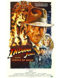 Indiana Jones and the Temple of Doom - Movie Poster