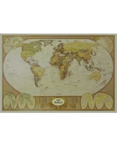 World Map - Poster
