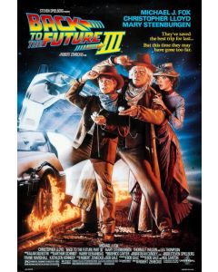 Back to the Future III - Movie Poster