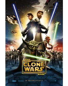 Star Wars: the Clone Wars - Movie Poster