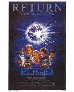 Star Wars: Episode VI - The Return Of The Jedi - Movie Poster