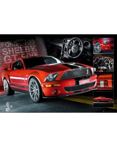Ford Mustang - Poster