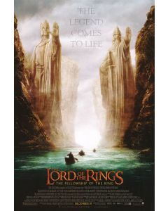 The Lord Of The Rings - The Fellowship Of The Ring - Movie Poster