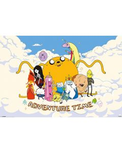 Adventure Time with Finn & Jake - TV Show Poster