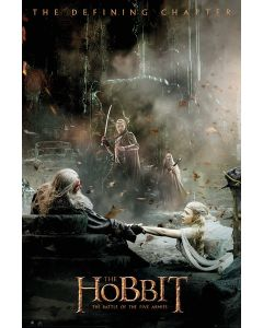The Hobbit: The Battle Of Five Armies - Movie Poster