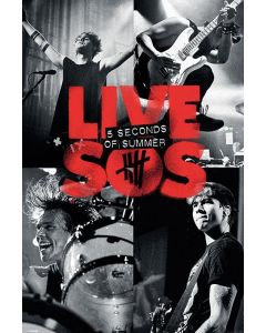 5 Seconds Of Summer - Music Poster