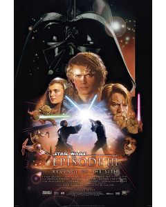 Star Wars: Episode III - Revenge Of The Sith - Movie Poster