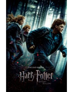 Harry Potter And The Deathly Hallows - Movie Poster