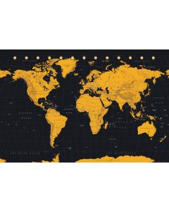 Map Of The World - Poster