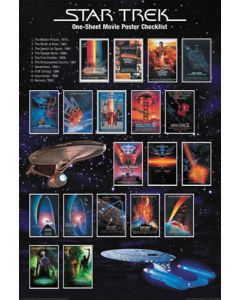 Star Trek Checklist - Movie Poster