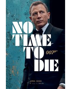 James Bond: No Time To Die -  Movie Poster