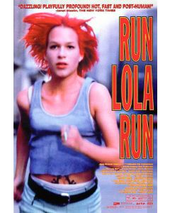 Run Lola Run - Movie Poster