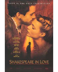 Shakespeare in Love - Movie Poster