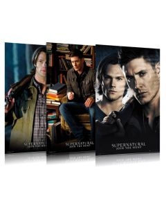 Supernatural - TV Show Poster Set