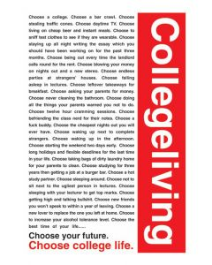 College Living - Poster