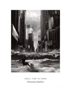 Swell Time in Town - Art Print