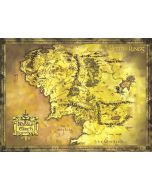 The Lord Of The Rings - Map Of Middle Earth - Giant Movie Poster