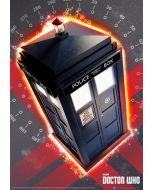 Doctor Who - Metallic Foil Poster
