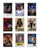 Star Wars: Episode IV, V & VI - Movie Poster Set