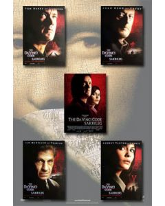 The Da Vinci Code - Movie Poster Set