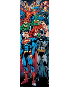 DC Comics - Justice League of America - Door Poster