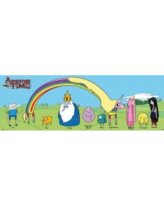 Adventure Time with Finn & Jake - Door Poster