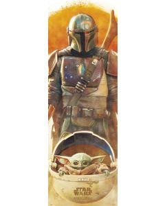 Star Wars: The Mandalorian - Door Poster