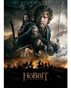 The Hobbit 3: The Battle Of Five Armies - Giant Movie Poster