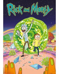 Rick And Morty - Giant TV Show Poster