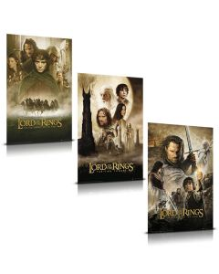 The Lord of the Rings - Movie Poster Set
