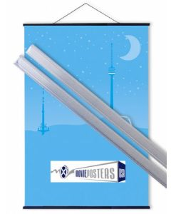 Poster Hangers - Clear / Transparent