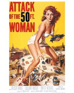 Attack of the 50 Ft. Woman - Movie Poster