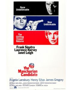 The Manchurian Candidate - Movie Poster