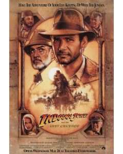 Indiana Jones and the Last Crusade - Movie Poster