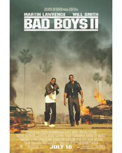 Bad Boys 2 - Movie Poster