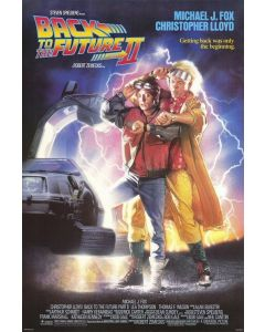 Back to the Future II - Movie Poster