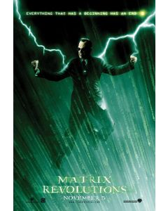 The Matrix - Revolutions - Movie Poster
