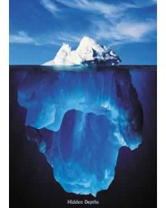 Hidden Depths - Iceberg - Poster