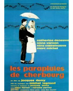 The Umbrellas of Cherbourg - Movie Poster