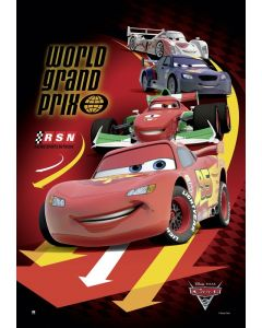 Cars 2 - Movie Poster