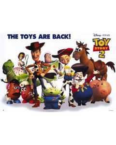 Toy Story 2 - Movie Poster