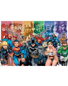 Justice League America - Generations - Comic Poster