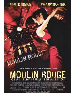 Moulin Rouge - Movie Poster