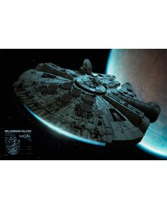 Star Wars - Millennium Falcon- Movie Poster